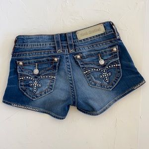 Rock Revival Short Jean Shorts. Size 27.